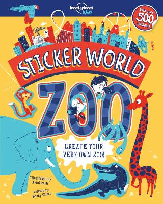 Sticker World - Zoo by Lonely Planet Kids