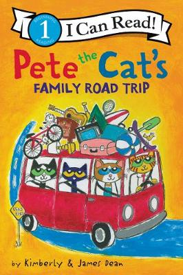 Pete the Cat's Family Road Trip book