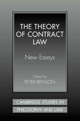Theory of Contract Law by Peter Benson