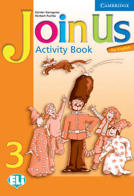 Join Us for English 3 Activity Book by Gunter Gerngross