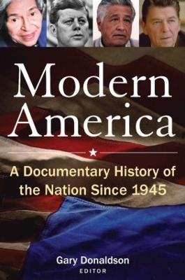 Modern America by Robert H. Donaldson