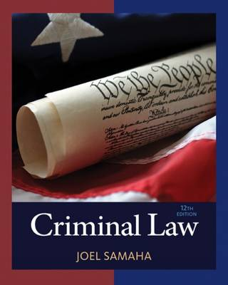 Criminal Law by Joel Samaha