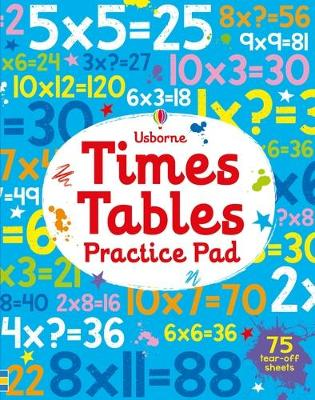 Times Tables Practice Pad book