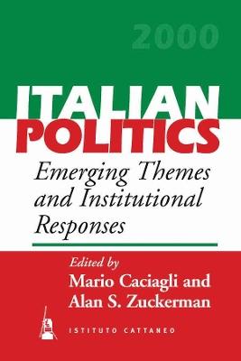 Italian Politics by Alan S. Zuckerman