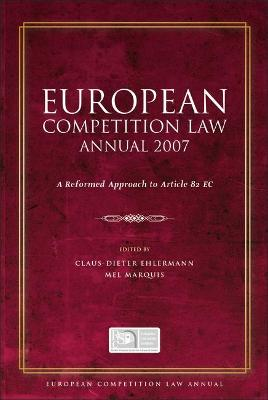 European Competition Law Annual book