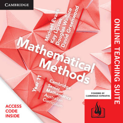 CSM AC Mathematical Methods Year 11 Online Teaching Suite (Card) by Michael Evans
