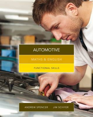 Maths & English for Automotive: Functional Skills book