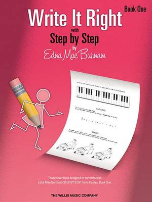 Write It Right with Step by Step, Book One book