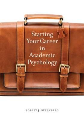 Starting Your Career in Academic Psychology book