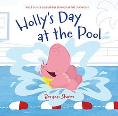 Holly's Day at the Pool by Benson Shum