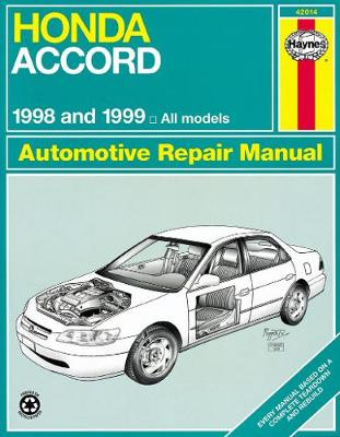 Honda Accord (98 - 02) by Haynes