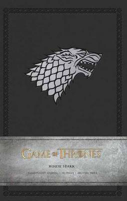 Game of Thrones: House Stark Ruled Pocket Journal by Insight Editions