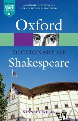 A Dictionary of Shakespeare by Stanley Wells