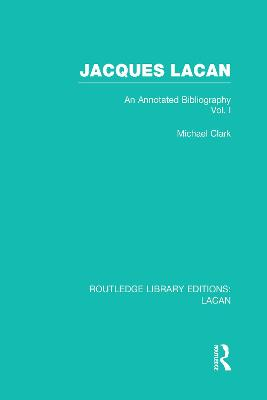 Jacques Lacan book