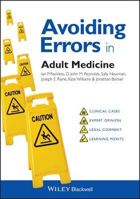 Avoiding Errors in Adult Medicine book