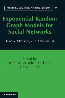 Exponential Random Graph Models for Social Networks by Dean Lusher
