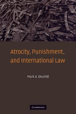 Atrocity, Punishment, and International Law by Mark A. Drumbl