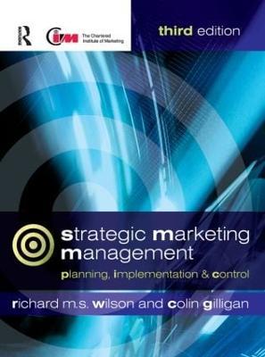 Strategic Marketing Management book