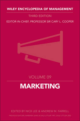 Marketing by Cary L. Cooper