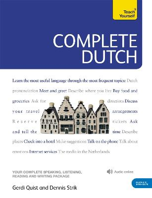 Complete Dutch Beginner to Intermediate Course: (Book and audio support) by Dennis Strik