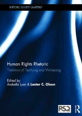 Human Rights Rhetoric book