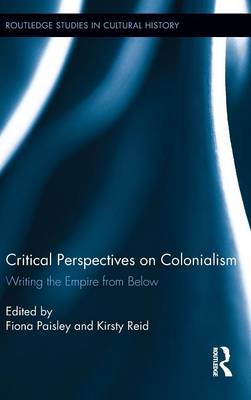 Critical Perspectives on Colonialism book