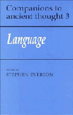 Language by Stephen Everson