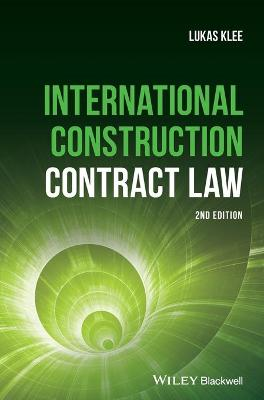 International Construction Contract Law book
