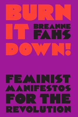 Burn It Down!: Feminist Manifestos for the Revolution by Breanne Fahs