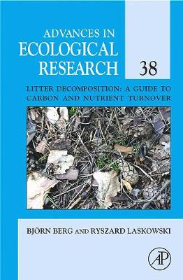 Advance in Ecological Research, Volume 38 by Yiqi Luo