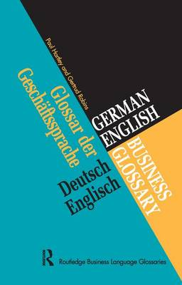 German/English Business Glossary by Paul Hartley