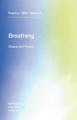 Breathing: Chaos and Poetry: Volume 26 by Franco