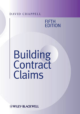 Building Contract Claims book