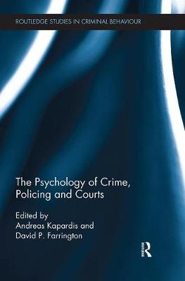 Psychology of Crime, Policing and Courts book