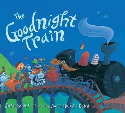 Goodnight Train (Lap Board Book) by ,June Sobel