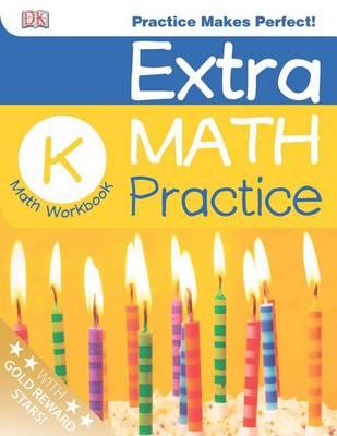 Extra Math Practice, Kindergarten Math Workbook by Sean McArdle