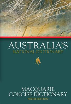 Macquarie Concise Dictionary by Macquarie Dictionary