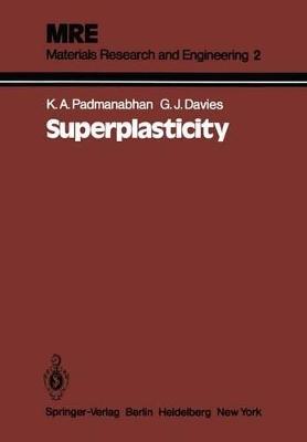 Superplasticity by Anantha  K. Padmanabhan