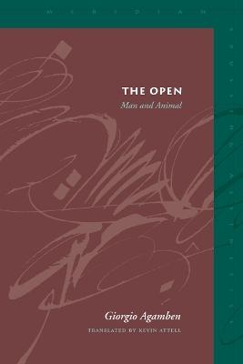 The Open by Giorgio Agamben