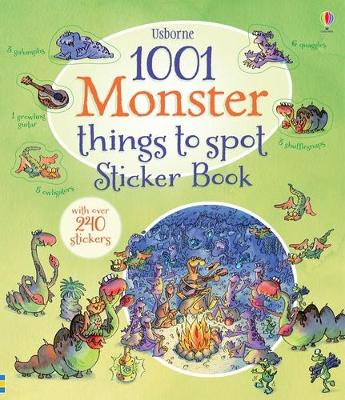 1001 Monster Things to Spot Sticker Book by Gillian Doherty