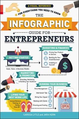 The Infographic Guide for Entrepreneurs: A Visual Reference for Everything You Need to Know by Carissa Lytle