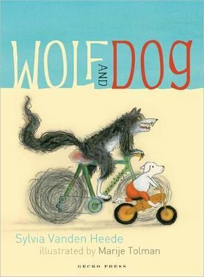 Wolf and Dog by Sylvia Vanden Heede