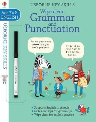 Wipe-Clean Grammar & Punctuation 7-8 by Hannah Watson
