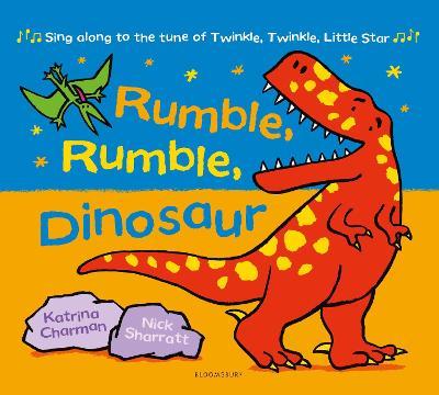 Rumble, Rumble, Dinosaur book