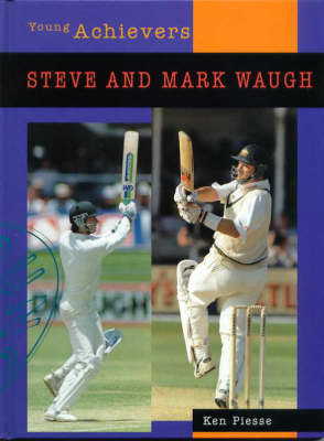 Steve and Mark Waugh by Ken Piesse