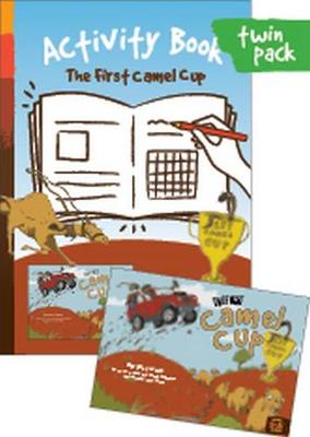 The First Camel Cup + Activity Book: Sections: Fun with Words; Grammar; Comprehension; Art & Culture; Science by Margaret James and Illustrated by Jayo Stenz