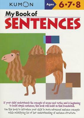 My Book of Sentences by Kumon Publishing