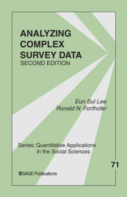 Analyzing Complex Survey Data by Eun Sul Lee