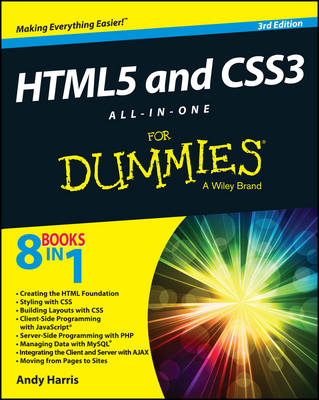 Html5 and Css3 All-In-One for Dummies, 3rd Edition book