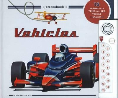 Vehicles Soundbook by Ben Grossblatt